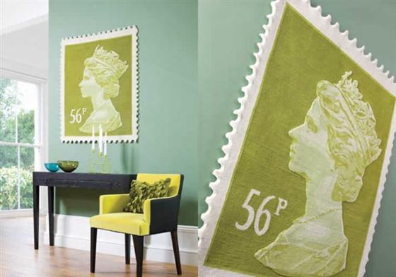 Unique-Queen-Elizabeth-II-on-Rugs-Decorating-with-green-color