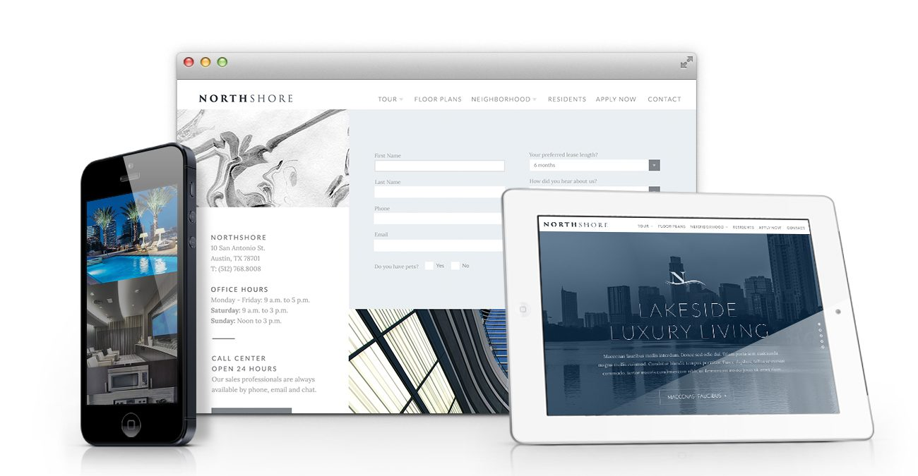 Northshore: Website Mockup