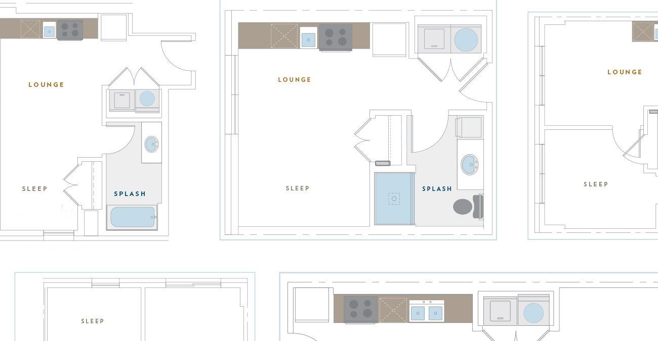 2215: Floor plans
