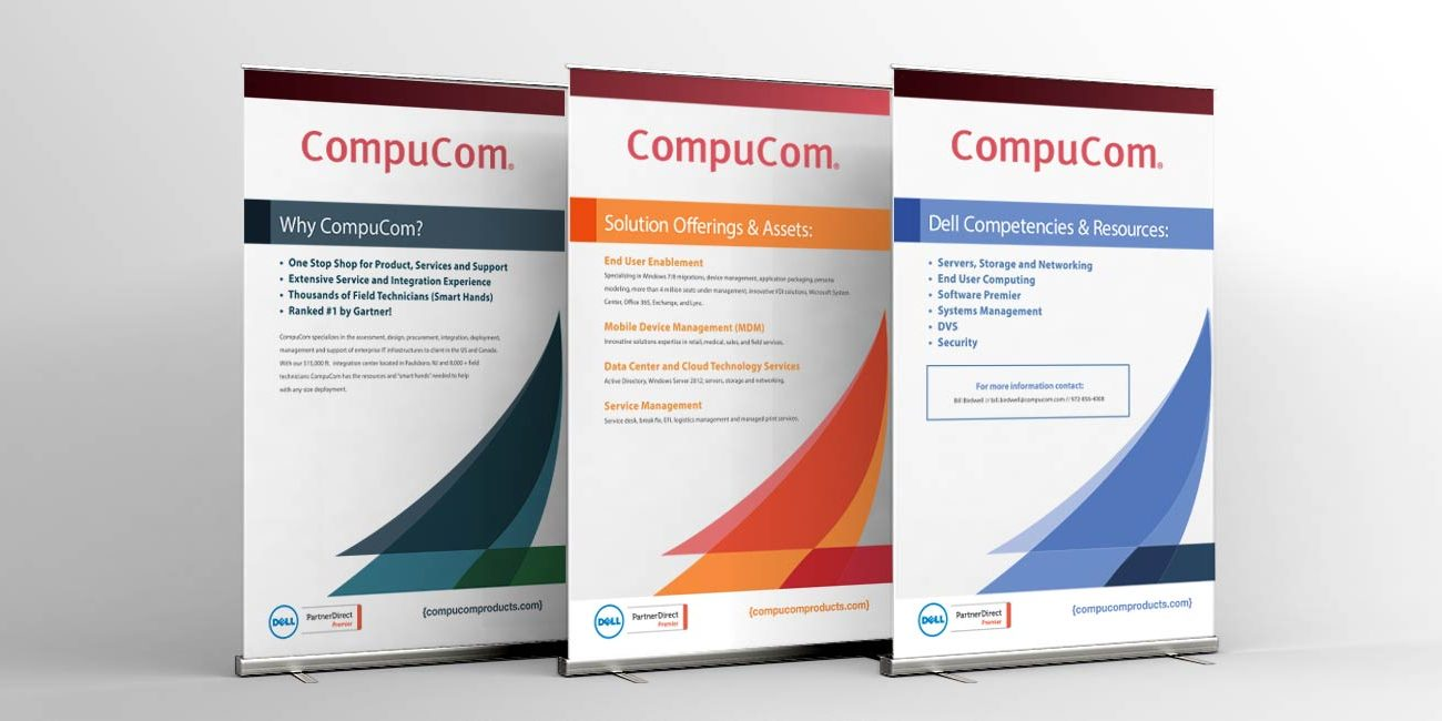 CompuCom: Tradeshow Banners