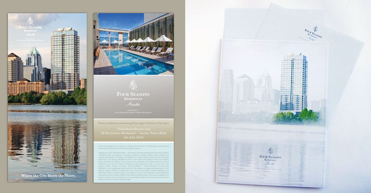 Four Seasons: Direct Mail + Folder