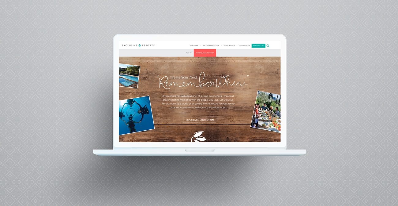 Exclusive Resorts: Home Page
