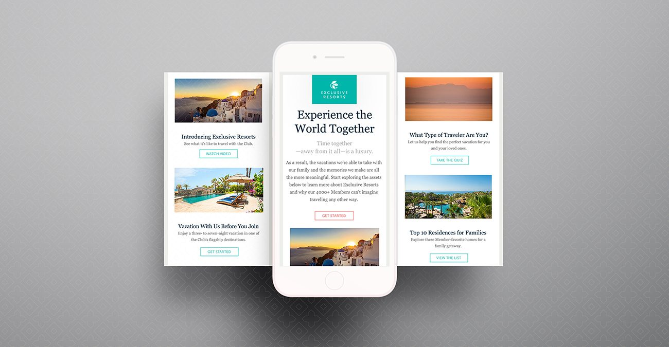 Exclusive Resorts: Email