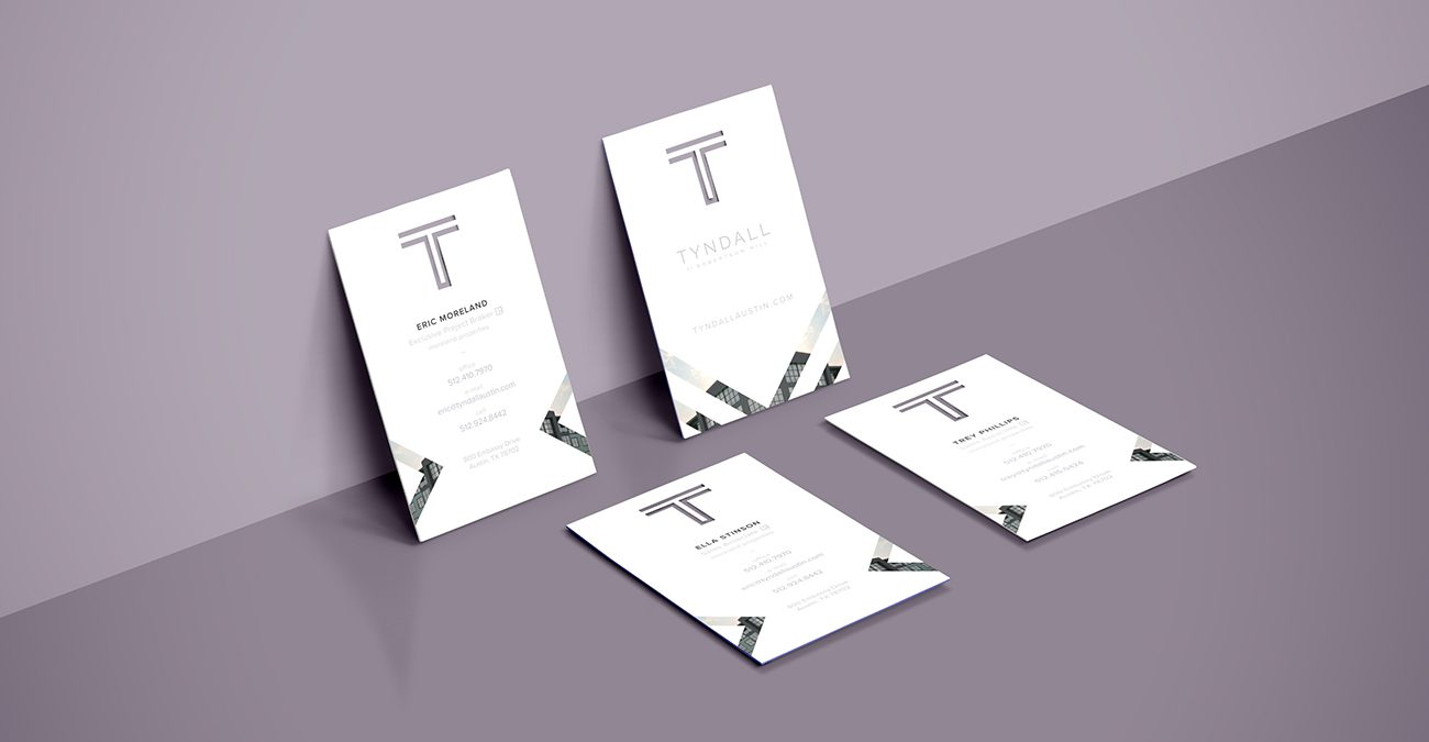 Tyndall: Business Cards