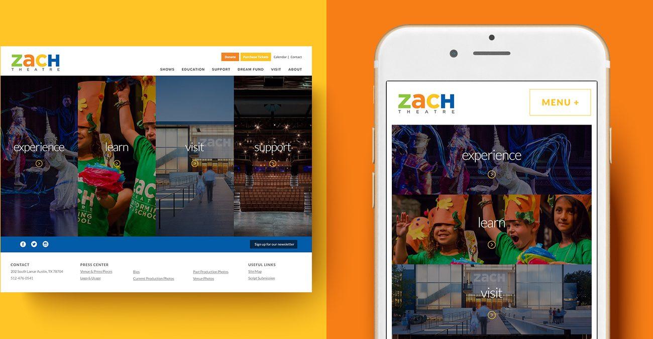 ZACH Theatre Website 2