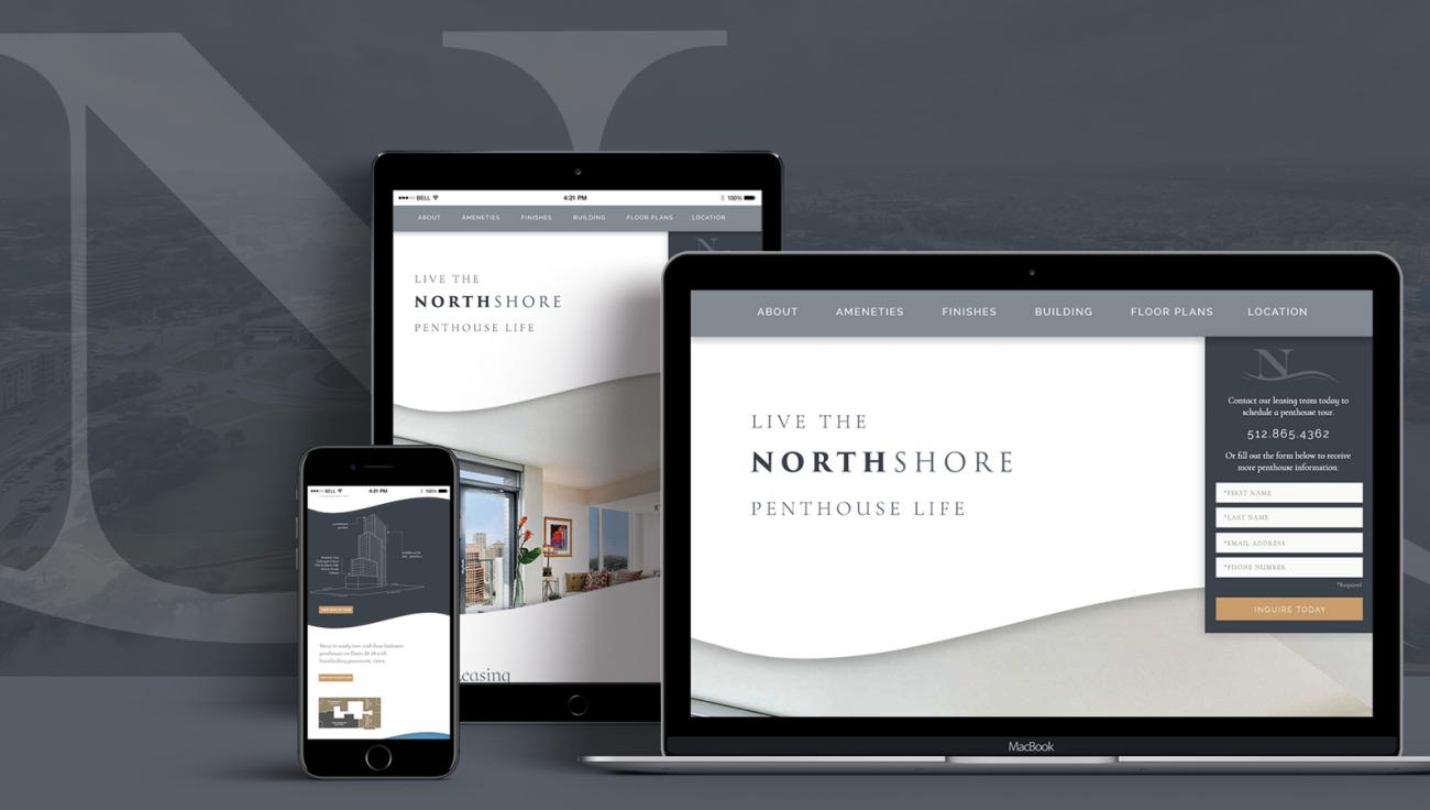 Northshore: Landing Page Campaign